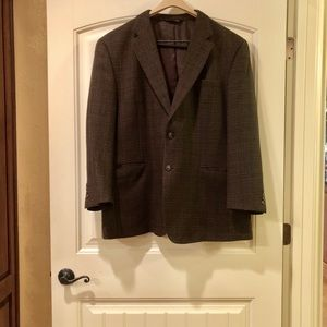 Jos. A Bank Wool Houndstooth Blazer Size 48R